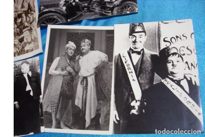 Cine: EL GORDO Y EL FLACO EXCELENTE LOTE DE 12 ARTICULOS FOTOS ETC-IMPORTANTE LEER DESCRIPCIO - Foto 7 - 264245612