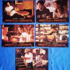 Cinema: ABIERTO ANTES DEL AMANECER - 7 FOTOCROMOS. Lote 267085459