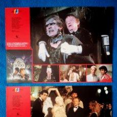 Cine: TRANSYLVANIA 6-5000 - DOS FOTOCROMOS. Lote 269126303