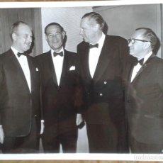 Cine: JOHN WOOLF Y CAROL REED EN LA CEREMONIA DE LOS OSCARS 1969. Lote 269236718