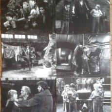 Cine: OLIVER. 9 FOTOS INGLESAS. MARK LESTER, OLIVER REED, RON MOODY, JACK WILD. Lote 269236913