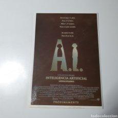 Cine: POSTAL, DE CINE, INTELIGENCIA ARTIFICIAL, SIN CIRCULAR.. Lote 269337733