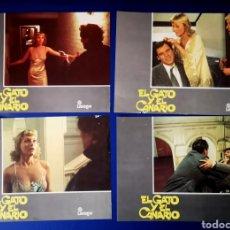 Cine: EL GATO Y EL CANARIO - 4 FOTOCROMOS. Lote 269843633