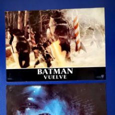 Cine: BATMAN VUELVE - DOS FOTOCROMOS. Lote 269843798