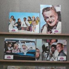 Cine: ABF27 EL LOCO LOCO ASALTO A UN BANCO GEORGE C. SCOTT SET 6 FOTOCROMOS ORIGINAL ESTRENO. Lote 269960403