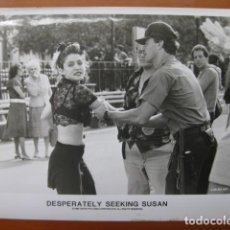 Cine: BUSCANDO A SUSAN DESESPERADAMENTE - FOTO ORIGINAL B/N - MADONNA. Lote 270394638