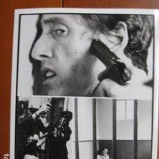 Cine: MCVICAR - FOTO ORIGINAL B/N - ROGER DALTREY THE WHO TOM CLEGG FILM. Lote 270395258