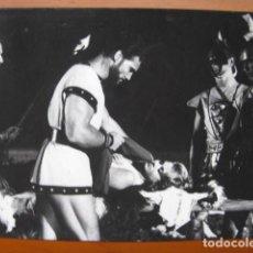 Cine: LA LEYENDA DE ENEAS - FOTO ORIGINAL B/N - STEVE REEVES LIANA ORFEI GIORGIO VENTURINI FILM. Lote 270395993