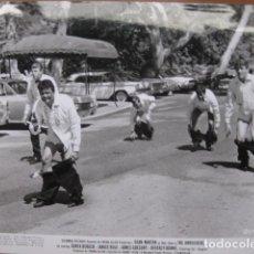 Cine: THE AMBUSHERS EMBOSCADA A MATT HELM - FOTO ORIGINAL B/N - HENRY LEVIN FILM. Lote 270396233