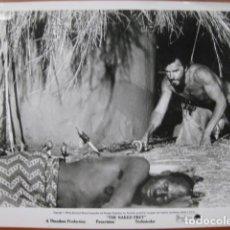 Cine: THE NAKED PREY LA PRESA DESNUDA - FOTO ORIGINAL B/N - CORNEL WILDE. Lote 270396353