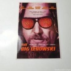 Cine: POSTAL CINEMATOGRÁFICA,THE BIG LEBOWSKI(EL GRAN LEBOWSKI, SIN CIRCULAR LA FOTOGRAFIADA.. Lote 271537073