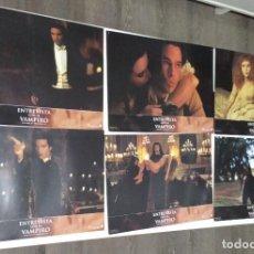 Cine: TOM CRUISE BANDERAS BRAD PITT ENTREVISTA CON EL VAMPIRO LOBBY FOTOCROMOS 11 1994. Lote 273650818