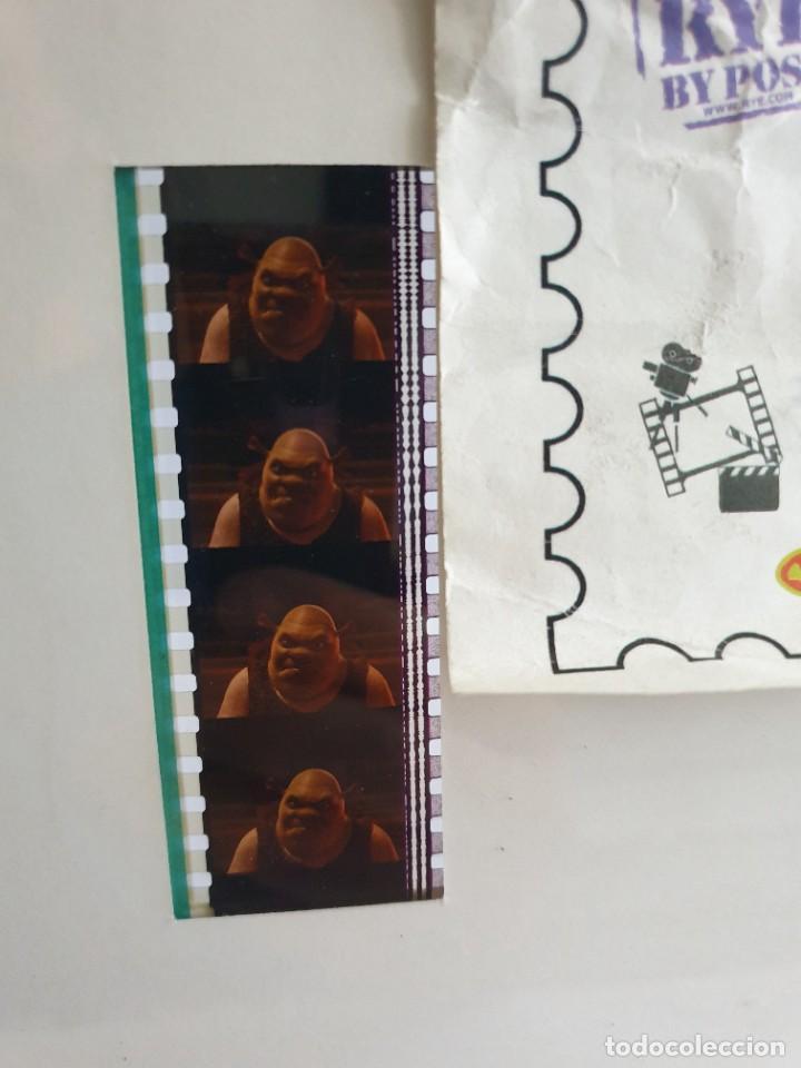 Cine: Cuadro Sherk 2 Filmcell pelicula 35mm original Edición Limitada - Foto 5 - 273658978