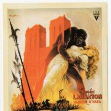 Cinéma: POSTAL ESMERALDA LA ZINGARA S/C. Lote 275067368
