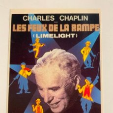 Cine: ANTIGUA POSTAL DE CHARLES CHAPLIN. MIDE UNOS 15X10,5CM. IMPECABLE.. Lote 275215658