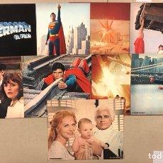 Cine: SUPERMAN EL FILM (DC COMICS WARNER ESPAÑOLA 1978). SOBRE ORIGINAL CON 9 FOTOCROMOS. Lote 276578213