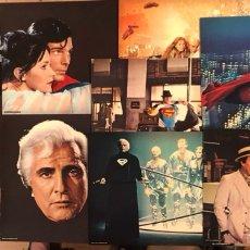 Cine: SUPERMAN EL FILM (DC COMICS WARNER ESPAÑOLA 1978). SOBRE ORIGINAL CON 9 FOTOCROMOS. Lote 276579018