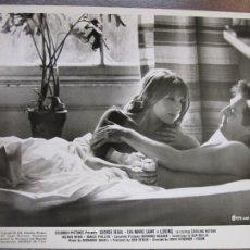 Cine: LOVING - FOTO ORIGINAL B/N - GEORGE SEGAL JANIS YOUNG IRVIN KERSHNER FILM. Lote 277530878