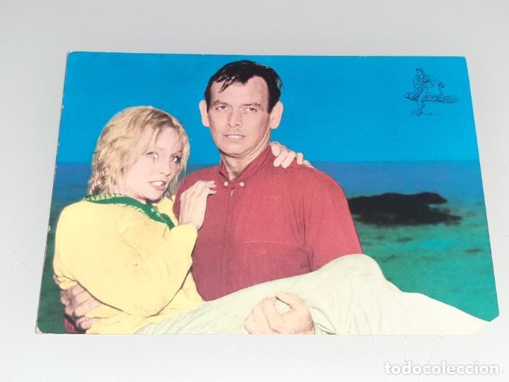 ANTIGUA POSTAL Nº 576 DEL ACTOR DAVID JANSSEN SERIE EL FUGITIVO OSCARCOLOR BERGAS AÑOS 60 (Cine - Fotos y Postales de Actores y Actrices)
