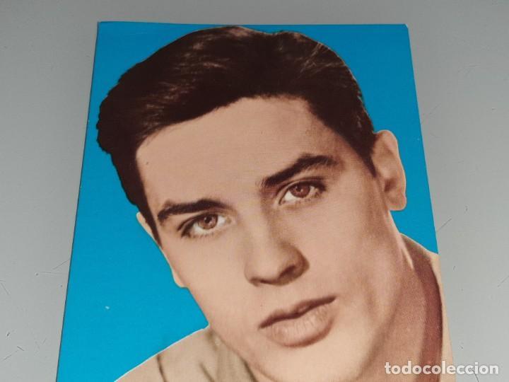 Cine: ANTIGUA POSTAL Nº 60 DEL ACTOR ALAIN DELON POSTAL OSCARCOLOR BERGAS AÑOS 60 - Foto 3 - 277638148