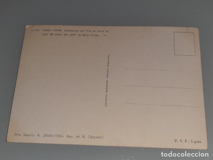 Cine: ANTIGUA POSTAL Nº 228 DE LA ACTRIZ PAMELA TIFFIN - EN BUSCA DEL AMOR - ED. BERMEJO AÑO 1964 - Foto 5 - 277642183