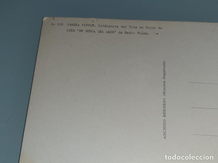 Cine: ANTIGUA POSTAL Nº 228 DE LA ACTRIZ PAMELA TIFFIN - EN BUSCA DEL AMOR - ED. BERMEJO AÑO 1964 - Foto 6 - 277642183