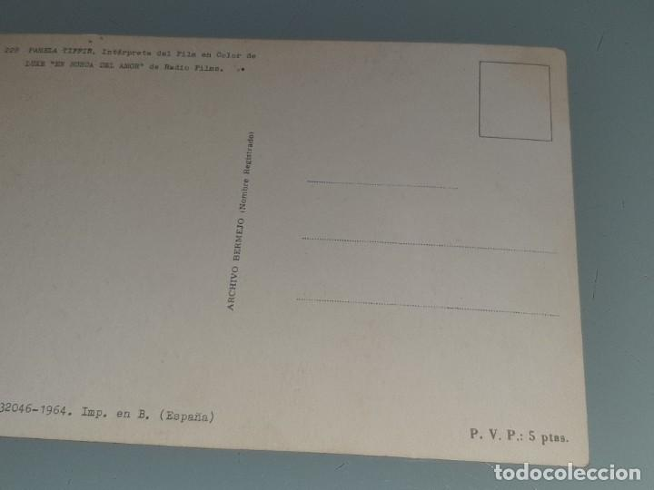 Cine: ANTIGUA POSTAL Nº 228 DE LA ACTRIZ PAMELA TIFFIN - EN BUSCA DEL AMOR - ED. BERMEJO AÑO 1964 - Foto 7 - 277642183