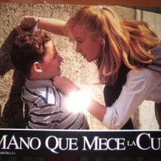 Cine: LA MANO QUE MECE LA CUNA-SET COMPLETO DE FOTOCROMOS ORIGINALES ESTRENO-. Lote 277647658