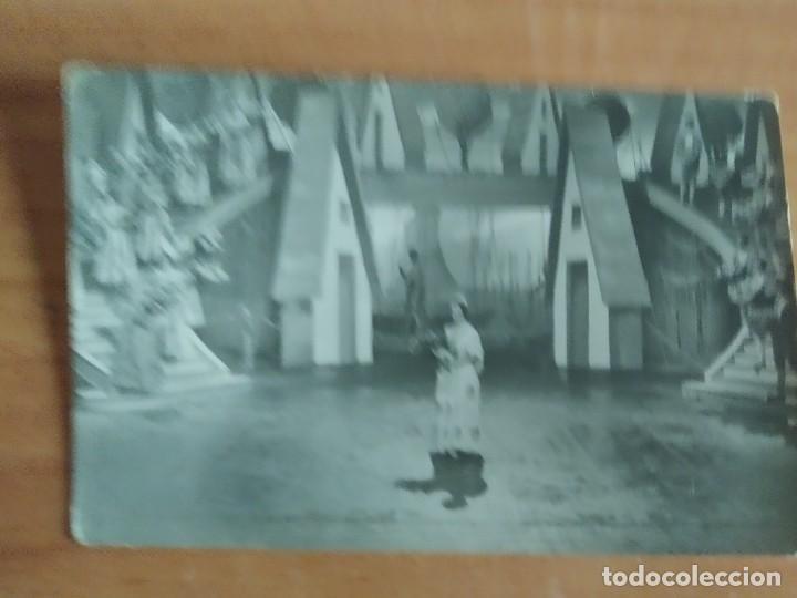 ALB.POS--POSTAL ARTISTAS DE CINE SARITA MONTIEL (Cine - Fotos y Postales de Actores y Actrices)