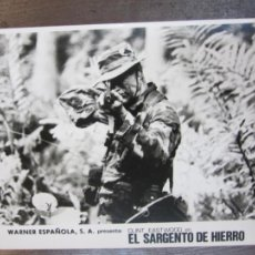 Cine: EL SARGENTO DE HIERRO HEARTBREAK RIDGE - FOTO ORIGINAL B/N - CLINT EASTWOOD. Lote 278679928