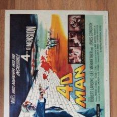 Cine: LOBBY CARD AMERICANO ORIGINAL 4D MAN, ROBERT LANSING, LEE MERIWETHER. Lote 279411953