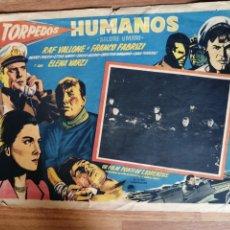 Cine: HUMANOS, RAF VALLONE, FRANCO FABRIZI, ELENA VARZI. Lote 279412143