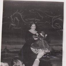 Cinéma: FOTOGRAFÍA (14,5X11 CMS.) JUANITA REINA EN MADRINA. SAN FERNANDO 1961. FOTÓGRAFO CUBILES. SEVILLA. Lote 285226673
