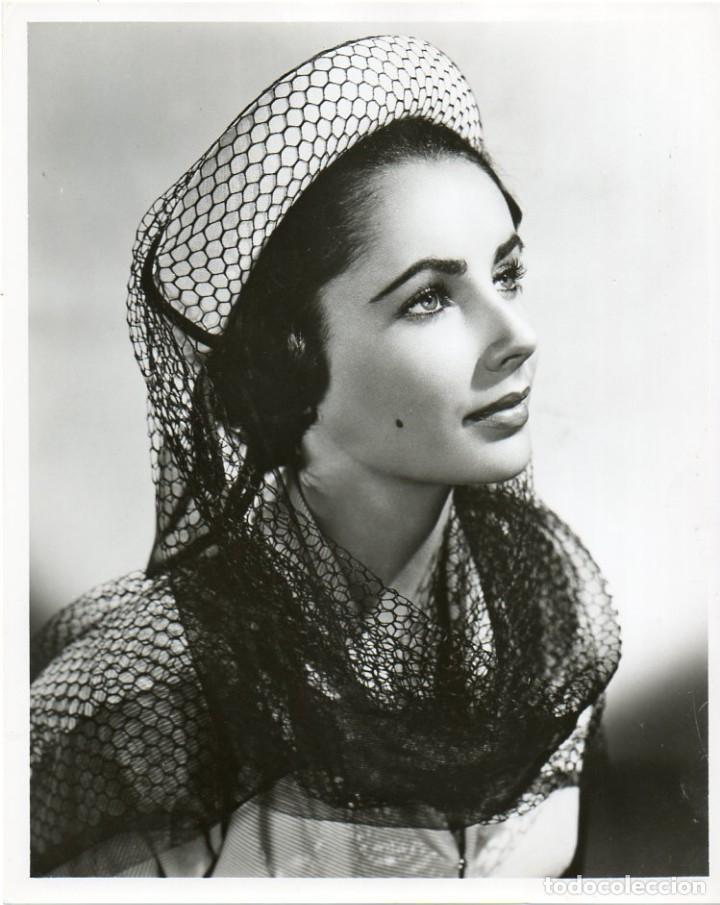 FOTOGRAFIA ORIGINAL ELIZABETH TAYLOR (Cine - Fotos y Postales de Actores y Actrices)