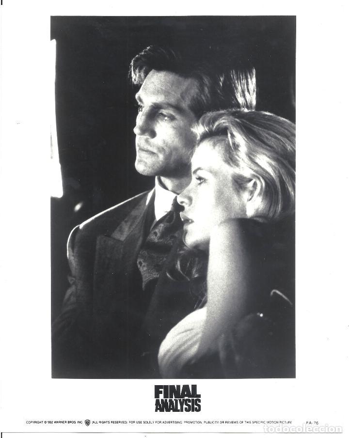 F31982 KIM BASINGER ERIC ROBERTS ANALISIS FINAL B/N ORIGINAL AMERICANA (Cine - Fotos y Postales de Actores y Actrices)