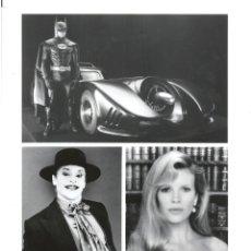Cine: F31983 KIM BASINGER JACK NICHOLSON MICHAEL KEATON BATMAN TIM BURTON B/N ORIGINAL AMERICANA. Lote 287468803