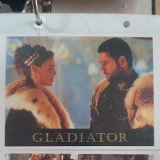 Cine: GLADIATOR - LOTE DE 10 POSTALES. Lote 287914533