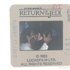 Cine: EL RETORNO DEL JEDI STAR WARS DIAPOSITIVA AMERICANA ORIGINAL DEL ESTRENO EN 1983. Lote 288359008