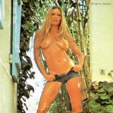 Cinema: FOTO BRIGITTE BARDOT DESNUDA - FROM PLAYBOY ITALY, SEPTEMBER 1974 - TAMAÑO 10X15 CM. Lote 289333713
