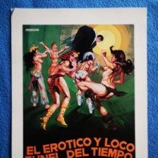Cine: EL ERÓTICO Y LOCO TUNEL DEL TIEMPO. Lote 289349343