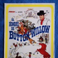 Cine: EL HOMBRE DE BUTTON WILLOW. Lote 289349918