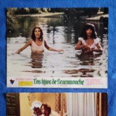 Cine: LOS HIJOS DE SCARAMOUCHE - 2 FOTOCROMOS. Lote 289350708