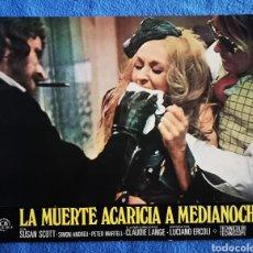 Cine: LA MUERTE ACARICIA A MEDIANOCHE. Lote 289351718