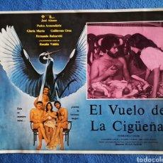 Cine: EL VUELO DE LA CIGUEÑA. Lote 289351863