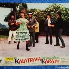 Cine: KALATRAVA CONTRA EL IMPERIO DEL KARATE. Lote 289352428