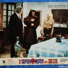 Cine: TRES SUPERHOMBRES EN EL OESTE. Lote 289352538