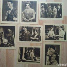 Cine: LOTE DE FOTOS ESTAMPAS DEL CINEMA EL GRAN CHARCO. Lote 289452328