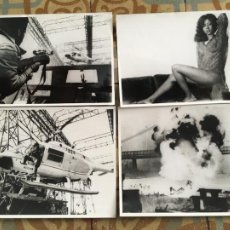 Cine: SHAFT VUELVE A HARLEM BLACKXPLOTATION COLECCION 4 FOTOS ORIGINALES DEL ESTRENO. Lote 289689358