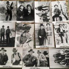 Cine: LOS PRIMEROS GOLPES DE BUTCH CASSIDY Y SUNDANCE COLECCION 11 FOTOS ORIGINALES DEL ESTRENO. Lote 289689628