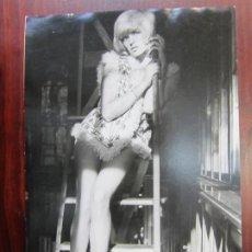 Cine: NATHALIE DELON - FOTO ORIGINAL B/N PRENSA - AÑOS 70' - FRENCH ACTRESS. Lote 289869428